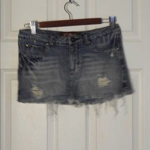 C Pink jean skirt! Size 5